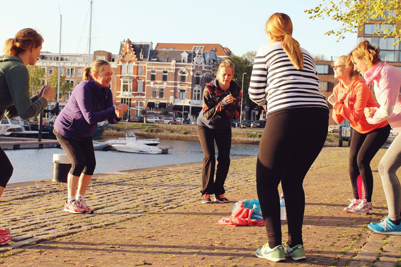[Translate to English:] zwangerschaps bootcamp Rotterdam centrum
